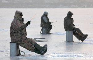 Rusya buzda balık